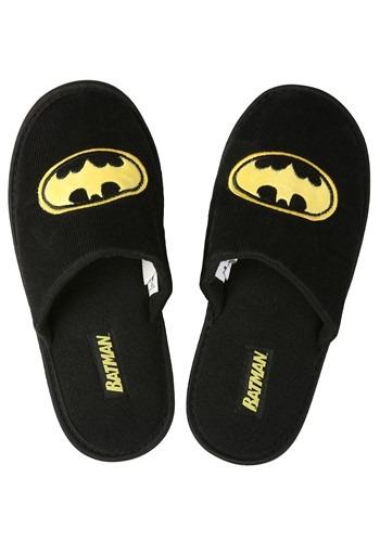 Batman Logo Mens Slippers