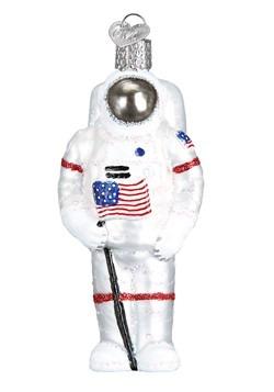Astronaut Glass Blown Ornament