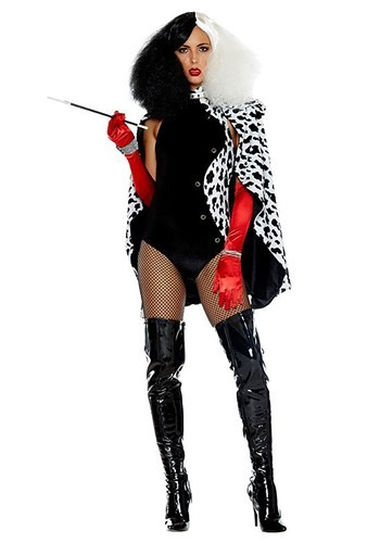 Womens Sexy De Vilish Costume