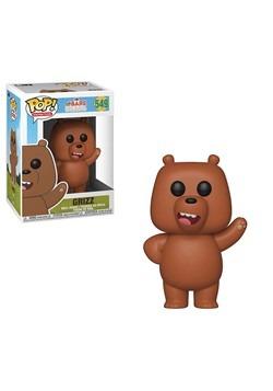 POP! Animation: We Bare Bears Grizz Vinyl Figure