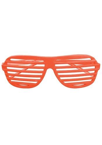 80's Shudder Shades Orange