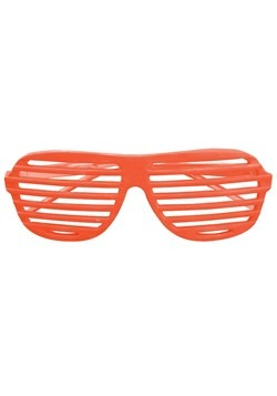 80's Shudder Shades Orange