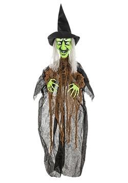 Animatronic Cackling Witch Halloween Decor