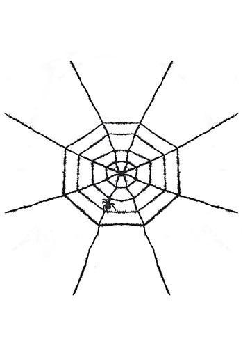 Light Up Spider Web Halloween Decoration1