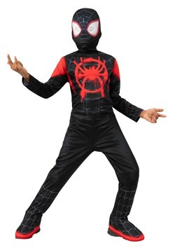 Into the Spider-Verse Kids Miles Morales Spider-Man Costume