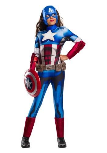 Marvel Captain America Girl's Costume