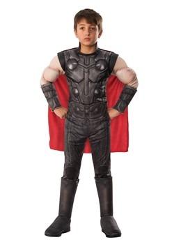 Avengers Endgame Boys Thor Deluxe Costume1