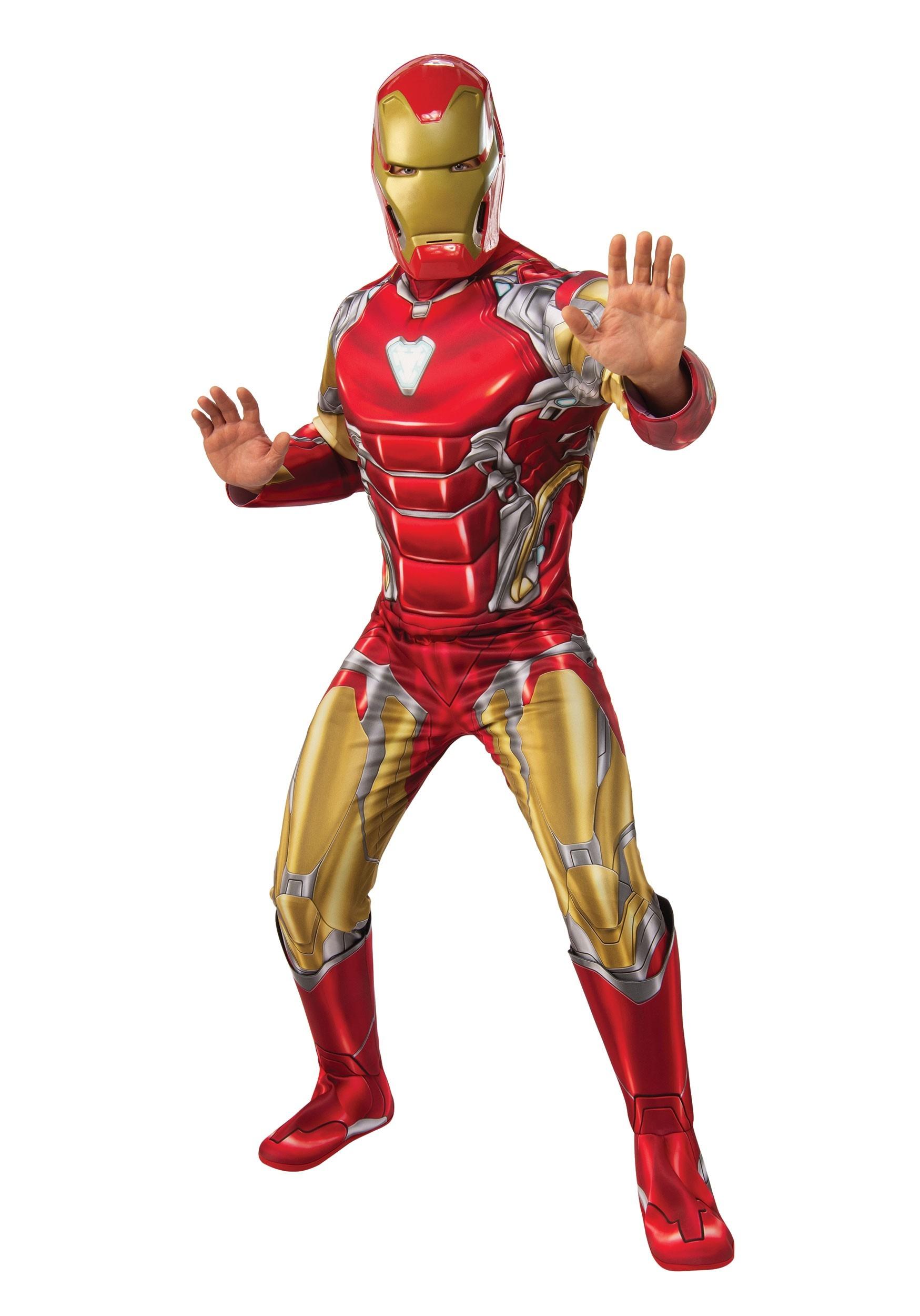 Iron Man Avengers Endgame Adult Deluxe Costume