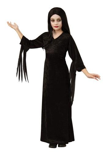 The Addams Family Morticia Kid's Costume