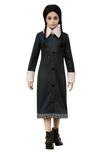 Kids The Addams Family Wednesday Costume