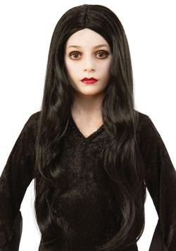 The Addams Family Morticia Kids Wig Accessory