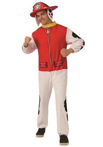 Paw Patrol Marshall Adult Jumpsuit