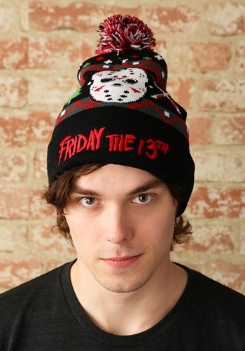 Friday the 13th Ugly Christmas Beanie Upd