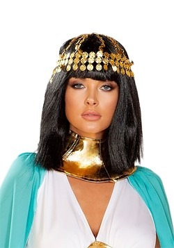 Egyptian Gold Coin Head Piece