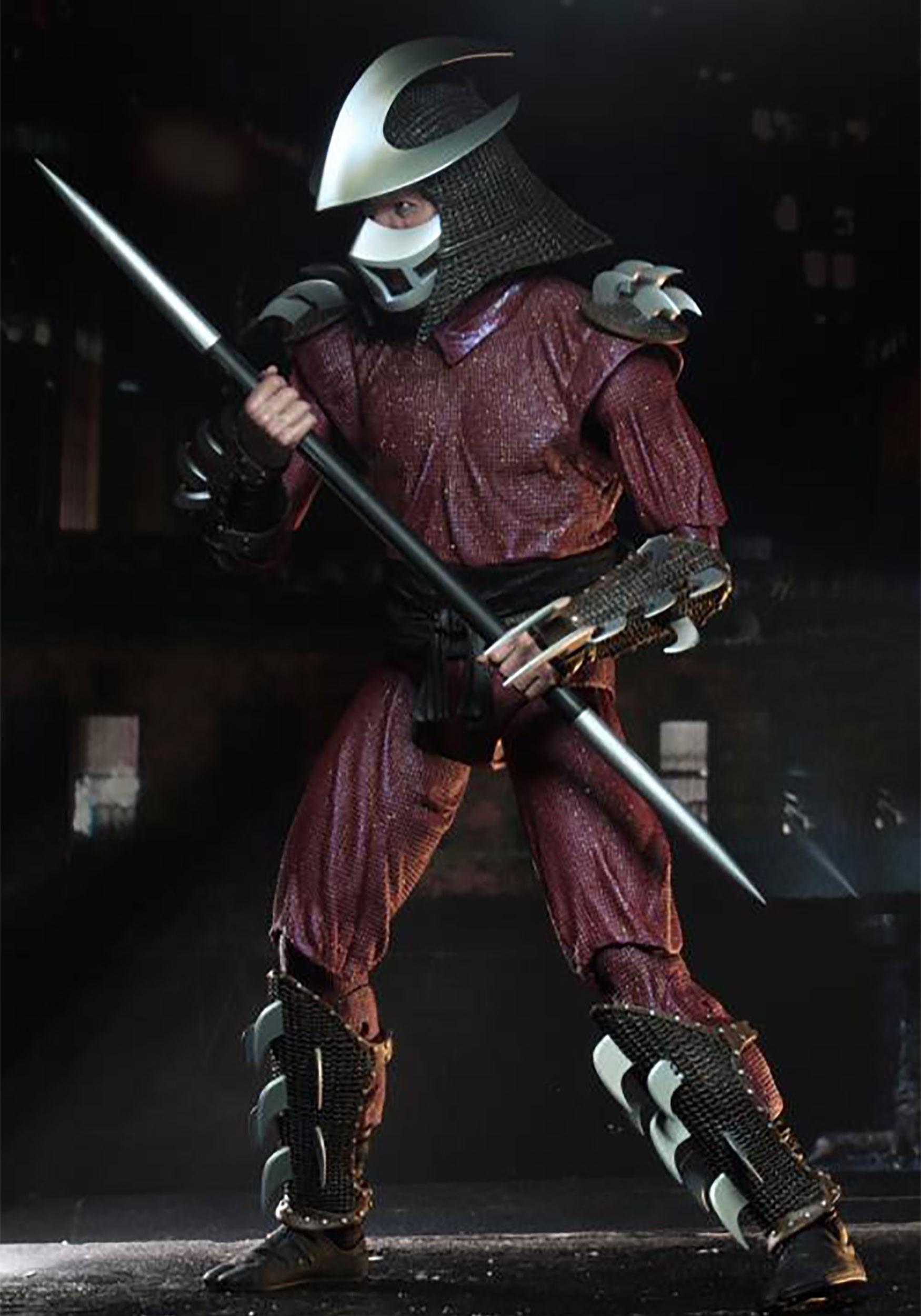 Shredder 1990 Movie 1 4 Scale Action Figure Tmnt