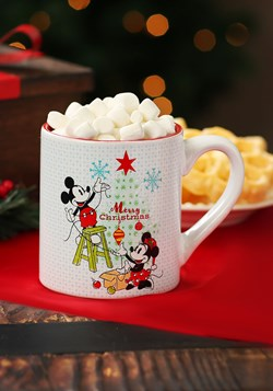 Mickey & Minnie Christmas- 14oz Ceramic Mug main
