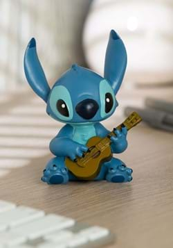 Stitch w/ Guitar Mini Figurine