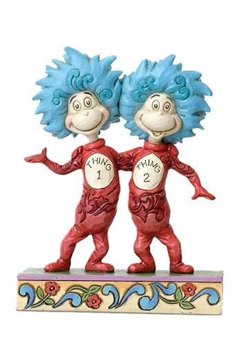 Thing 1 and Thing 2 Jim Shore Figurine