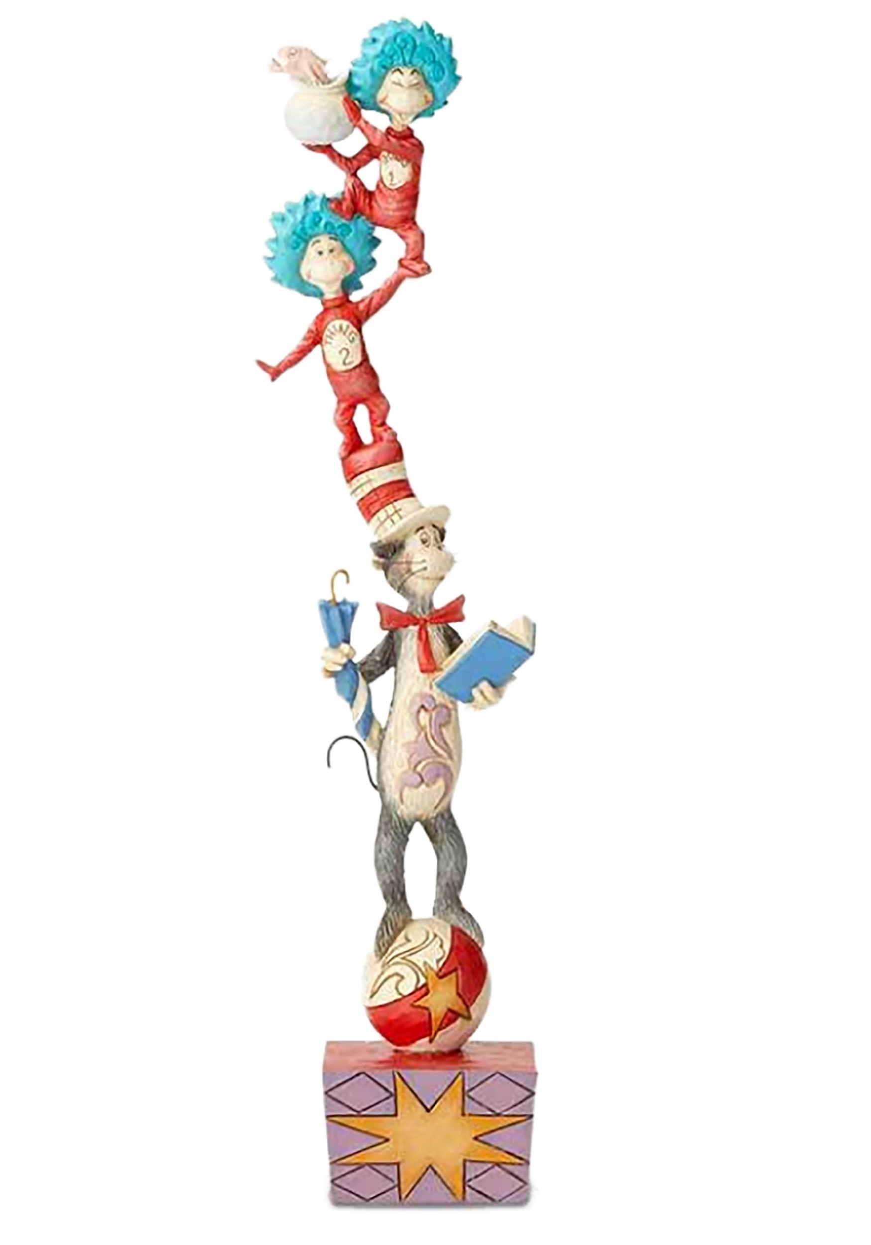 Jim Shore Cat In The Hat And Friends Statue