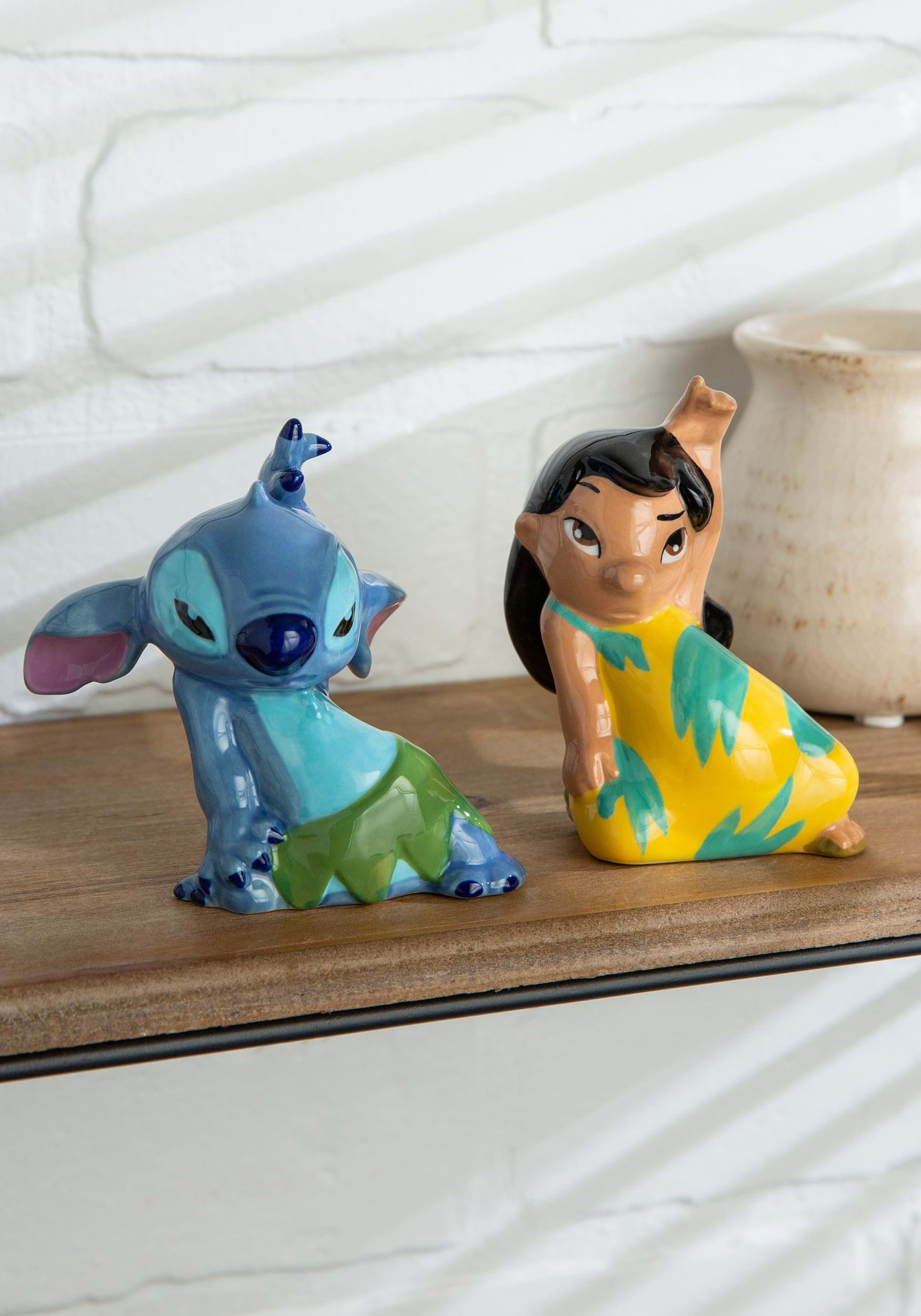 Lilo And Sch Salt Pepper Shaker Set