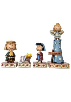 Peanuts Christmas Pageant Jim Shore Figure Set