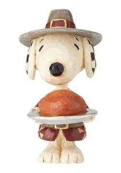 Snoopy Pilgrim Jim Shore Mini Figurine