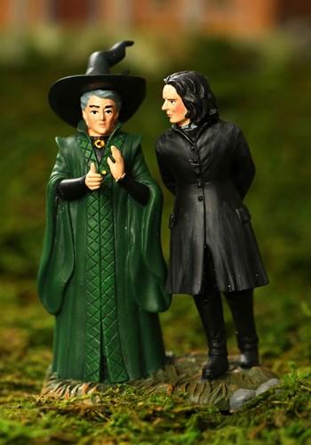 Department 56 Harry Potter Snape & McGonagall Figurine