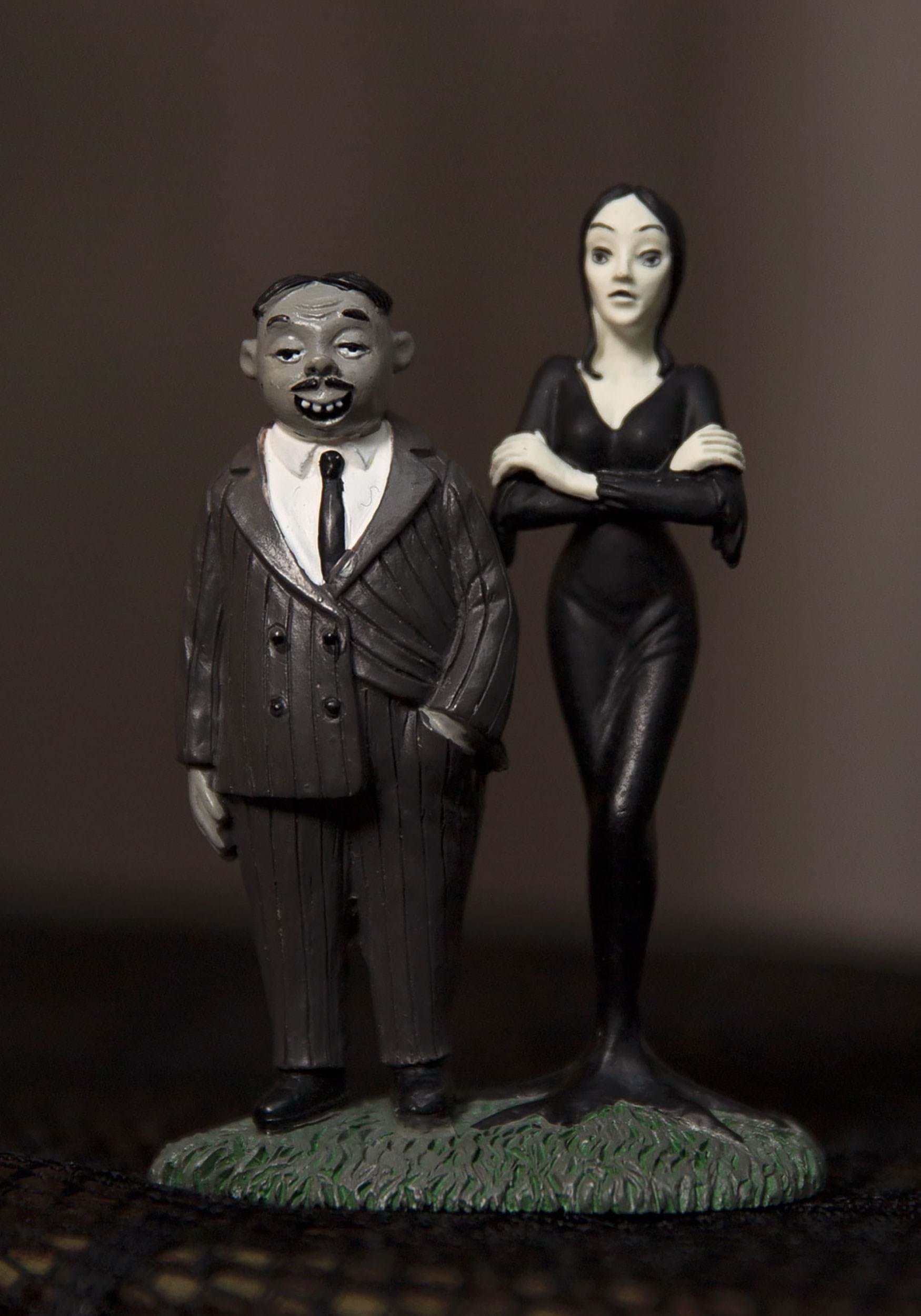Addams family gomez and morticia collectible