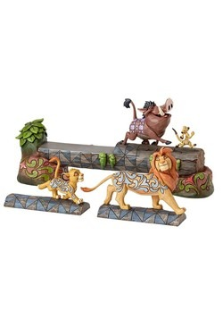 Simba, Timon and Pumbaa Figure Set