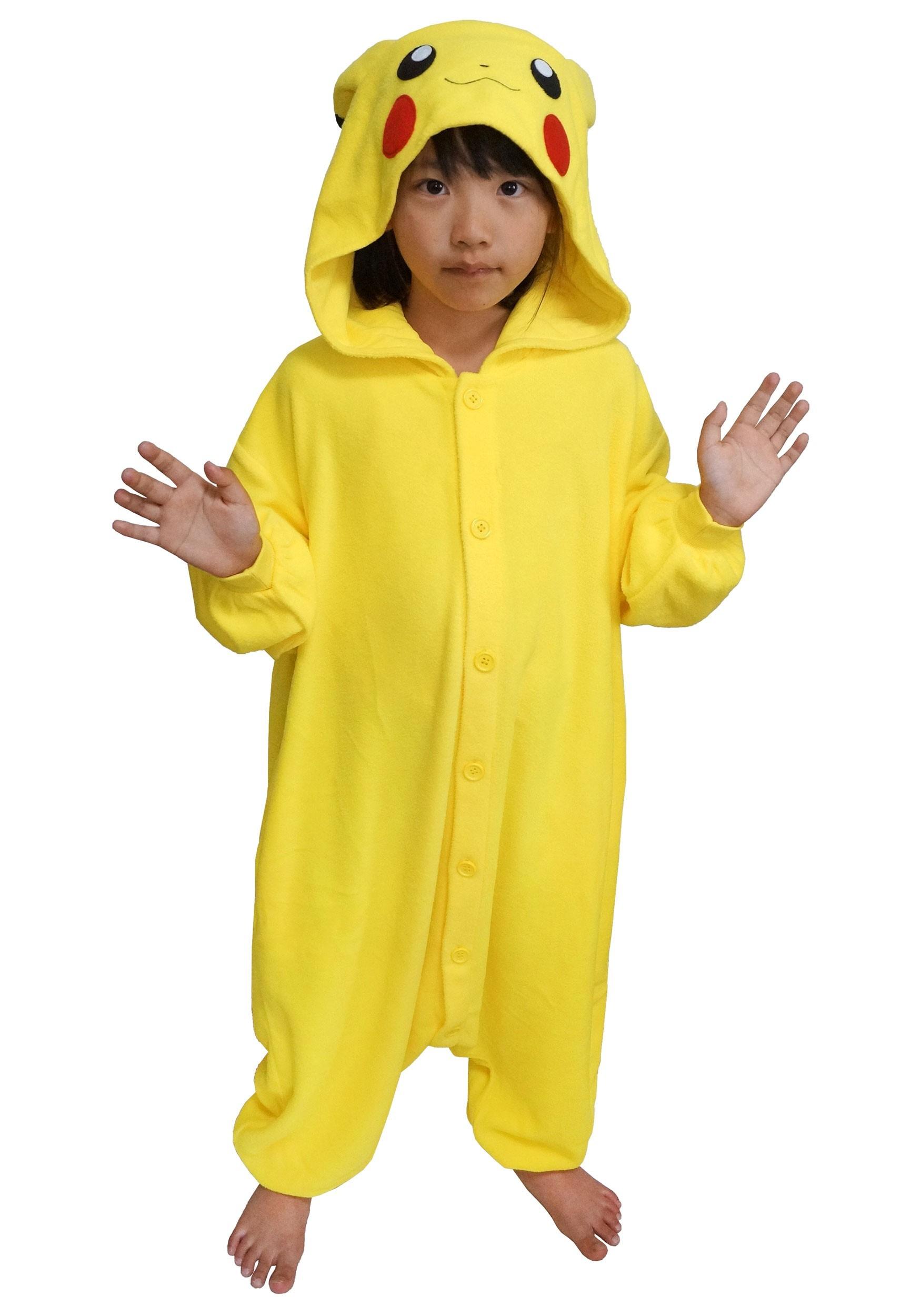 Pokemon Pikachu Kids Kigurumi