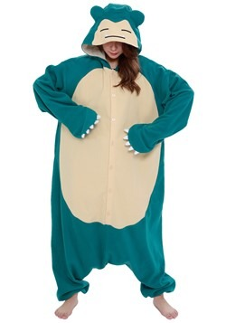 Pokemon Adult Snorlax Kigurumi1