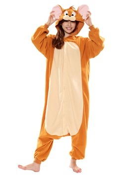 Adult Jerry Kigurumi from Tom and Jerry