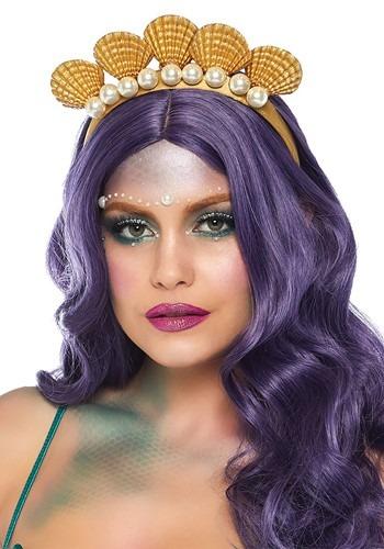 Pearl Sea Shell Mermaid Headband