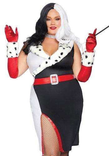Women's Plus Devilish Diva Costume