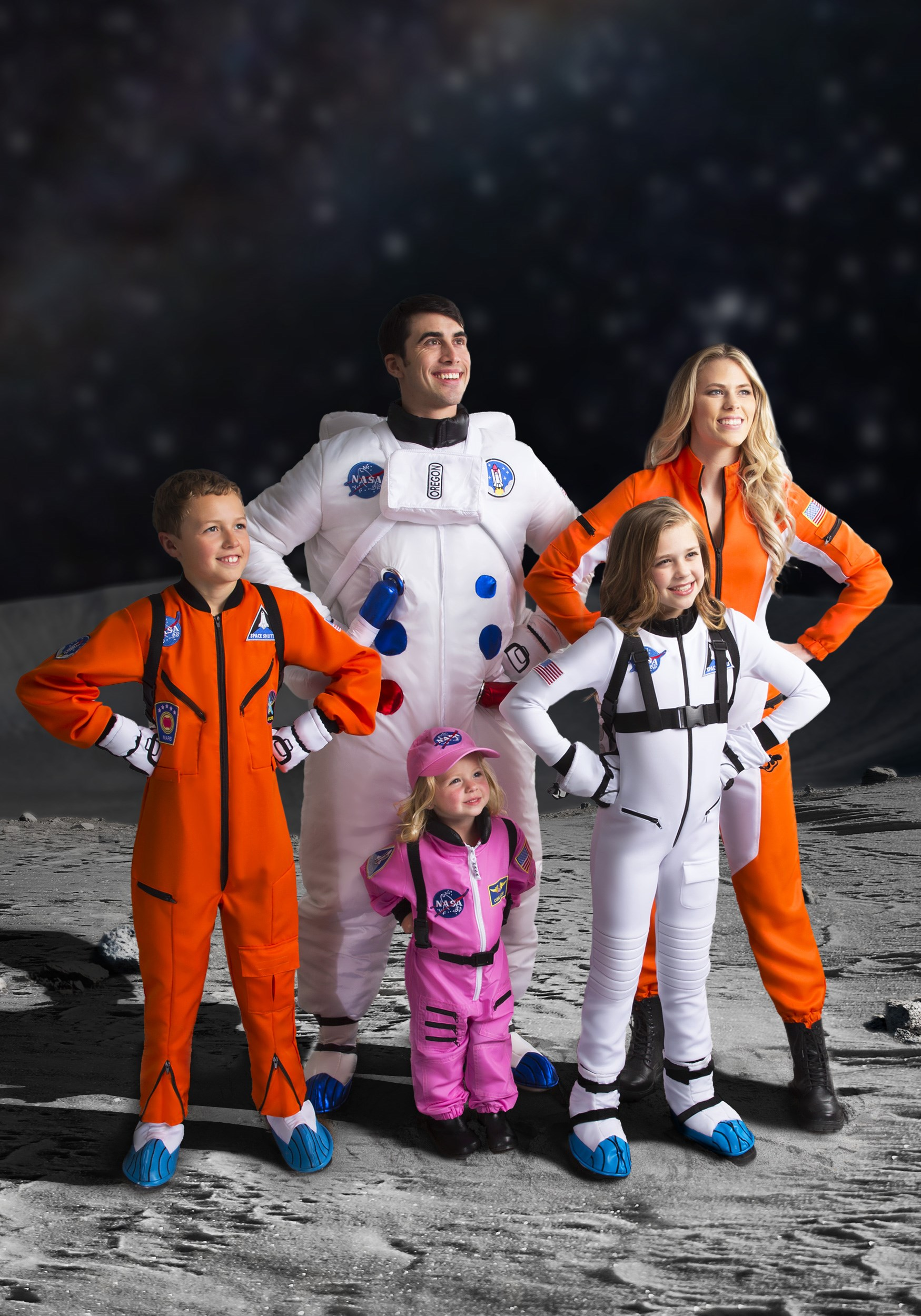 Girl/'s Pink Astronaut Costume