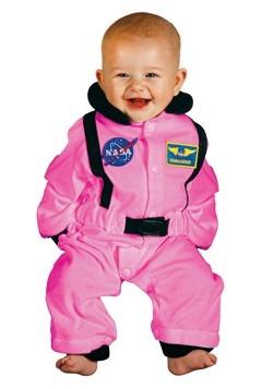 Pink Astronaut Baby Costume