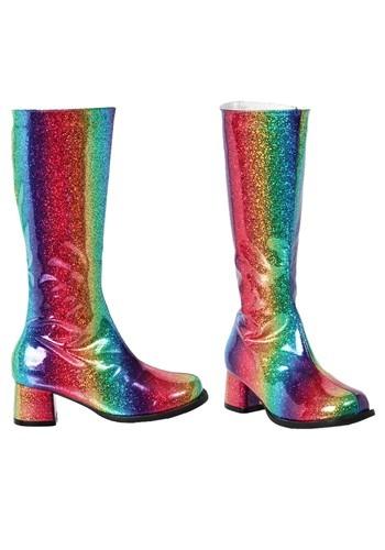 Girl's Rainbow Gogo Boots