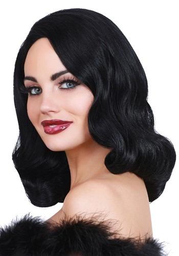 Hollywood: Black Glamour Wig 1