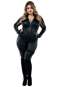 Secret Agent Plus Size Costume for Women