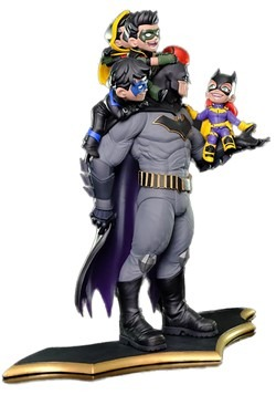 Quantum Mechanix Batman Family Q-Master Statue Alt 1