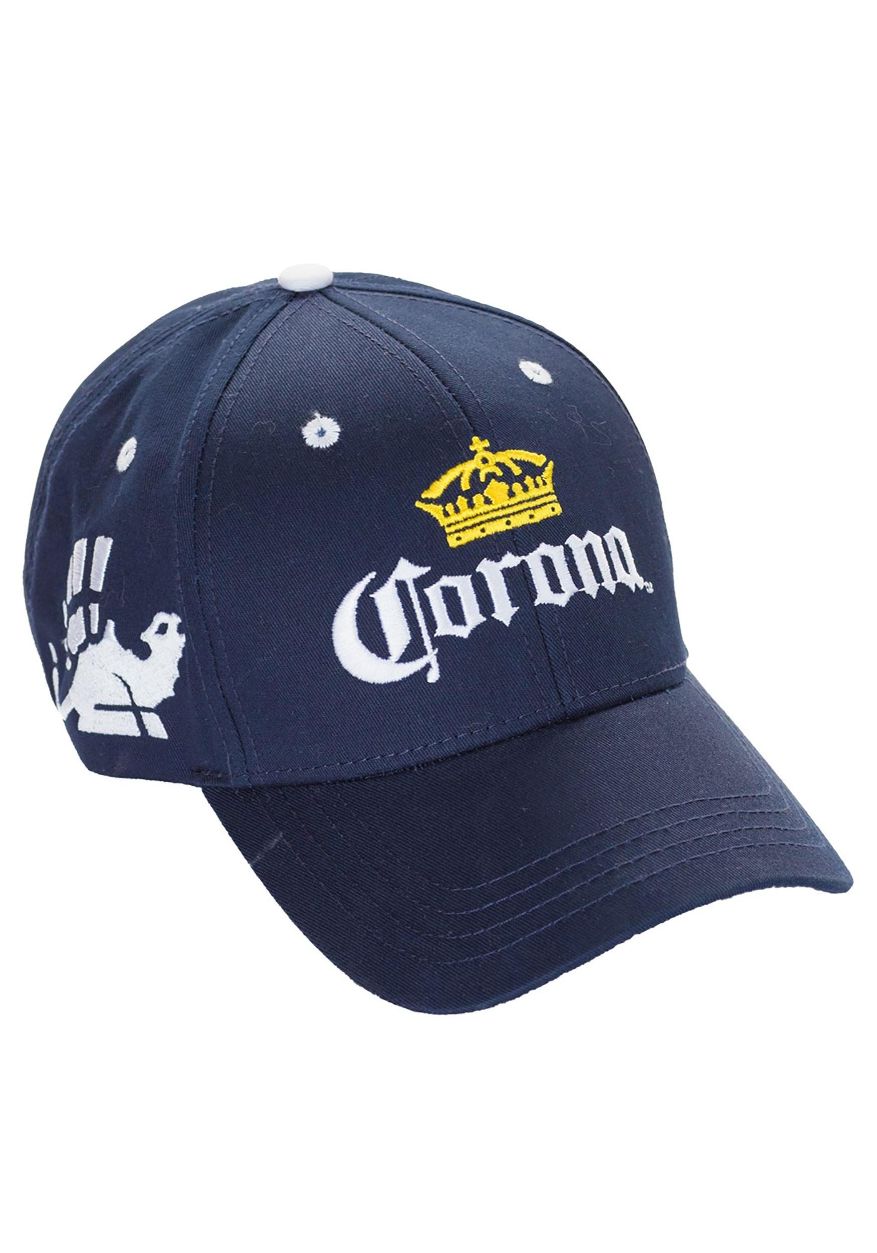 Corona Beer Blue Baseball Cap