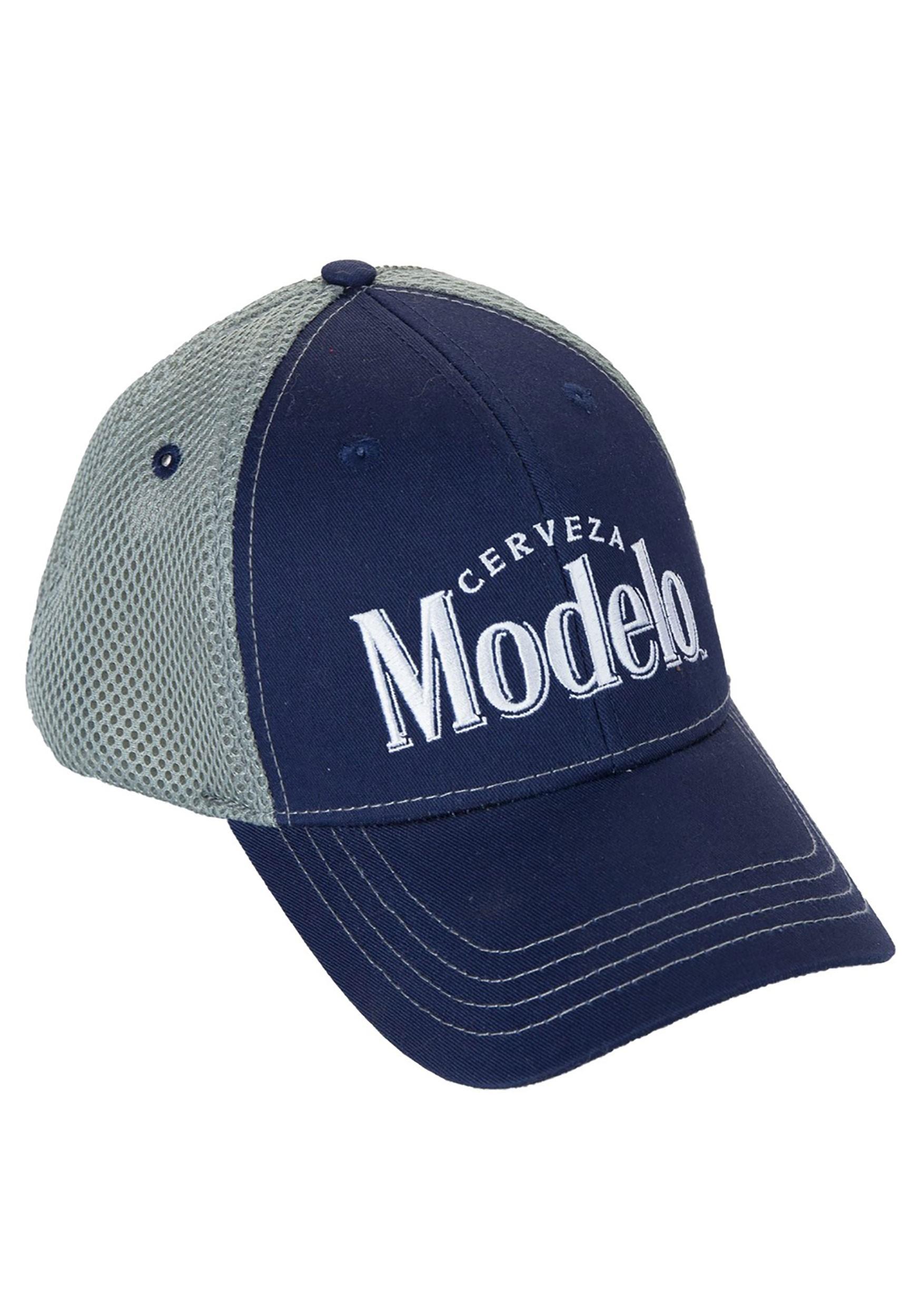 Cerveza Modelo Blue and Gray Baseball Cap