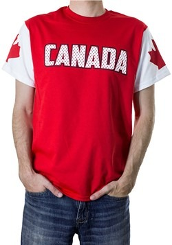 Men's Canada Red White TShirt