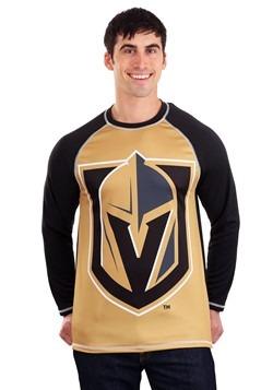 NHL Las Vegas Golden Kinghts Mens Long Sleeve Rash