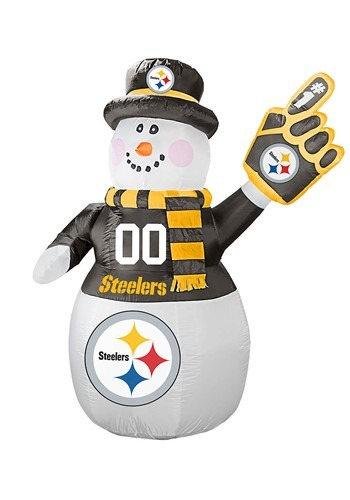 Inflatable | Pittsburgh | Snowman | Steeler