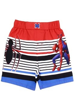 Marvel Comics Spider-Man Toddler Boys Swim Shorts