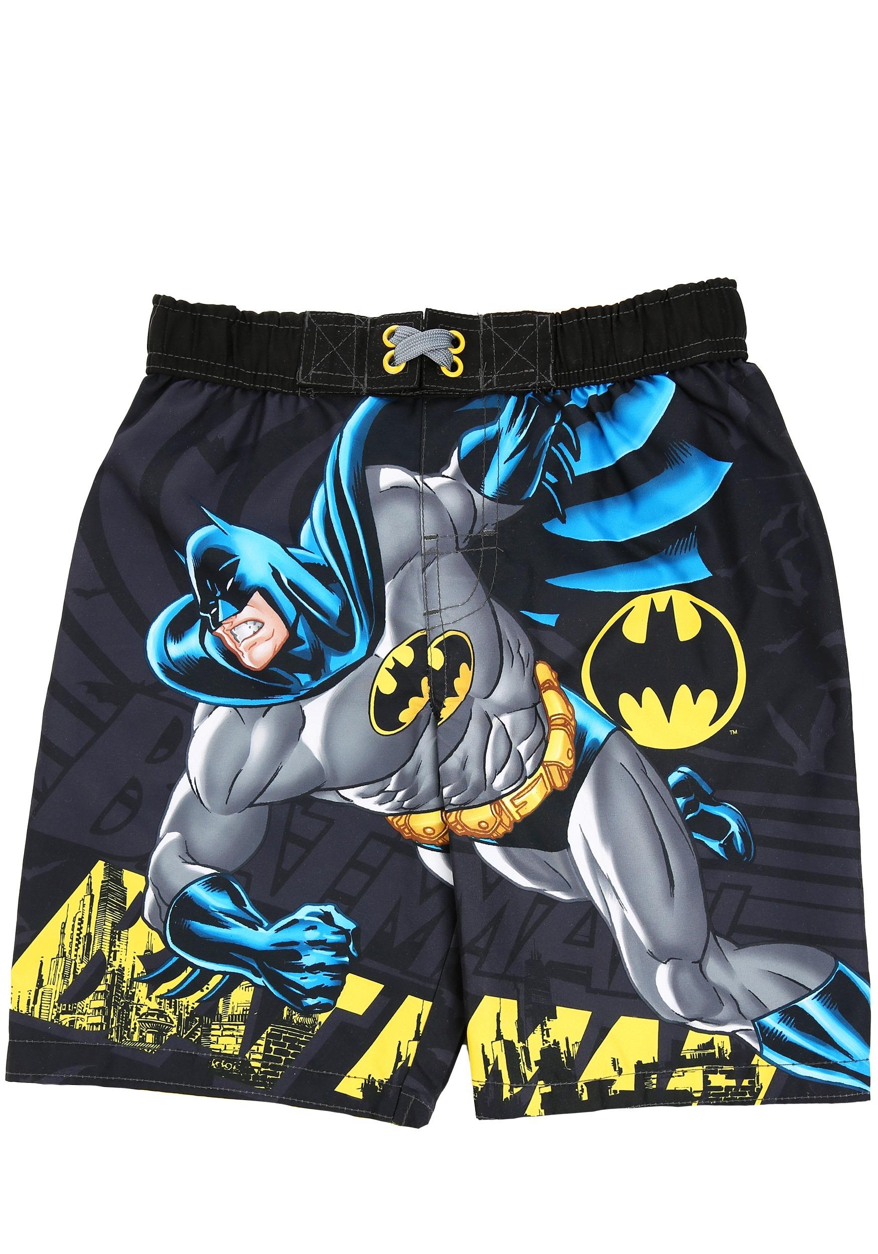 cba4dc2ad2 Batman Boys Swim Shorts