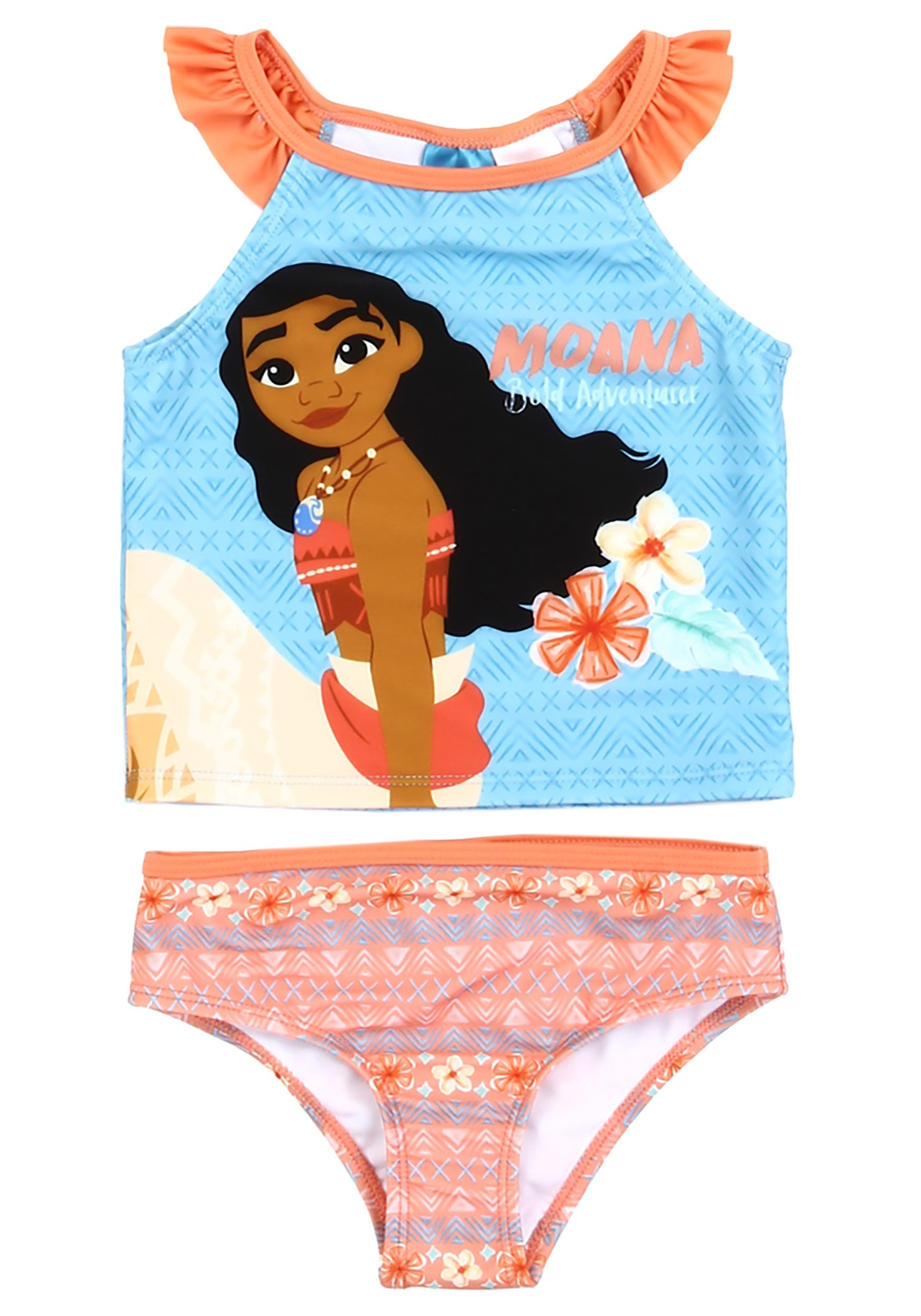 dd02466d1f310 Disney Moana Two Piece Toddler Girl's Swimsuit