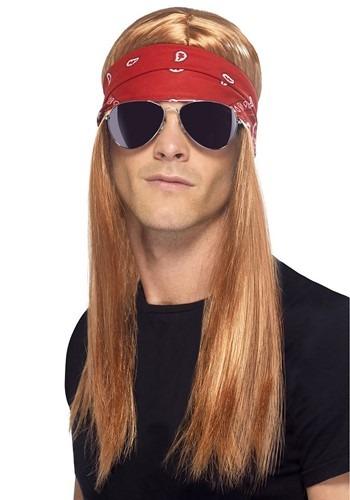 Mens 80s Jungle Rocker Wig