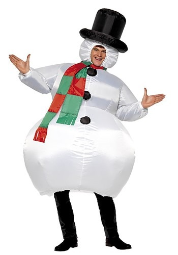 Snowman Inflatable Costume